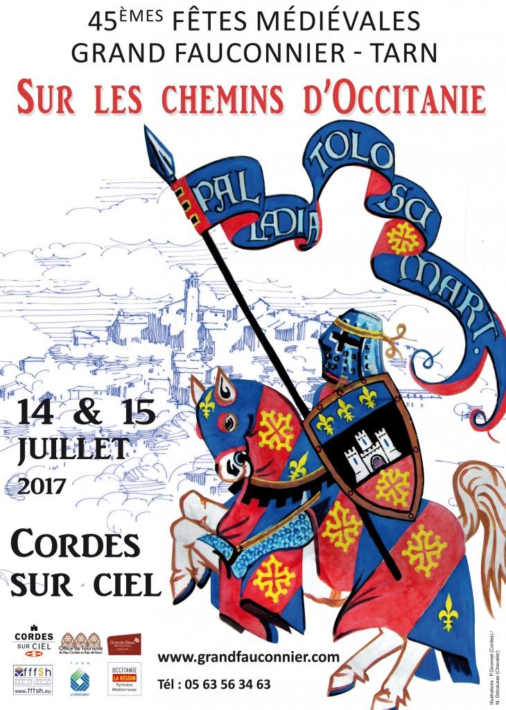 Grand Fauconnier - Médiévales Cordes sur Ciel