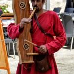 Ttun-ttun et flûte à trois trous, Médiévale de Briançon