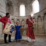 Concert en duo (et demi !) en la chapelle du chateau de Loarre, Aragon